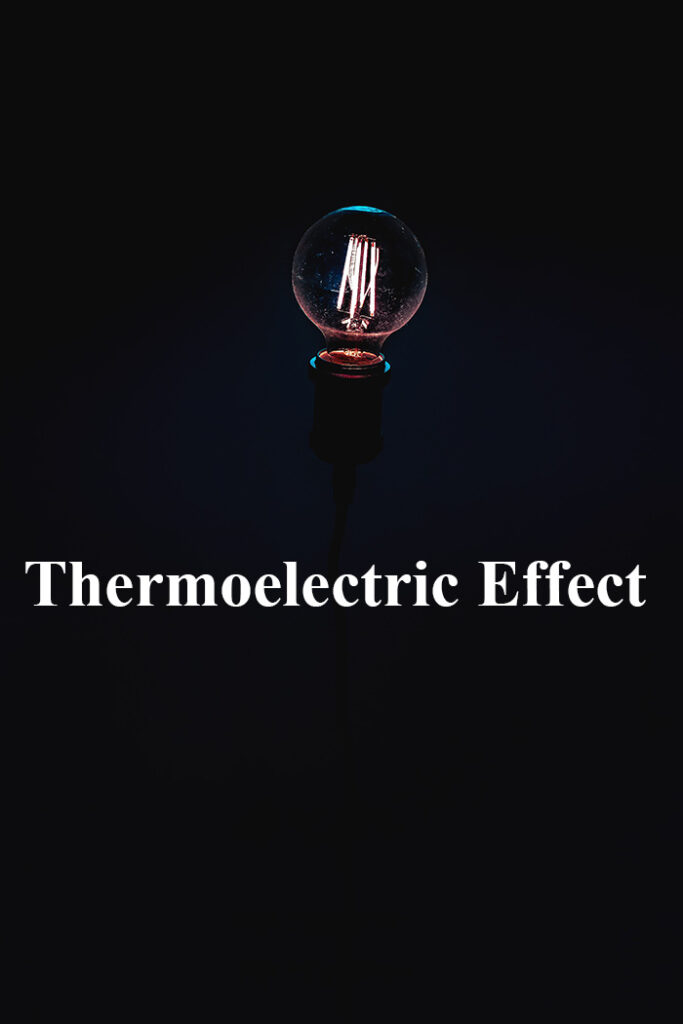 Thermo-electric effect
